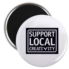 Support Local Creativity Magnet