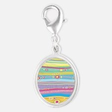 Colorful Stripes Charms