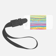 Colorful Stripes Luggage Tag