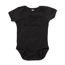 Cute Striped bass Baby Bodysuit