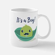 Little Man Mustache Baby Shower Mug
