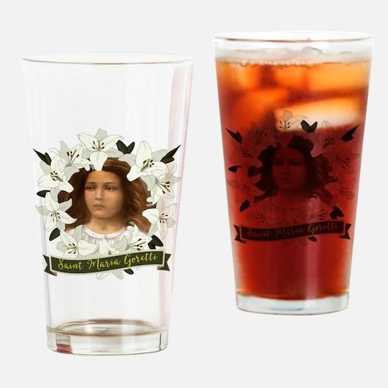 St. Maria Goretti Drinking Glass