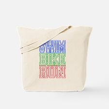 Cute Triathlon Tote Bag