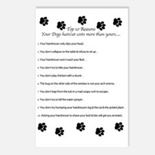 Unique Dog groomer Postcards (Package of 8)