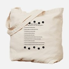 Cute Dog grooming Tote Bag