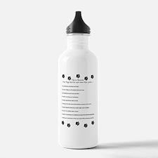Cute Groomer Water Bottle