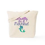 Mermaid Regular Canvas Tote Bag