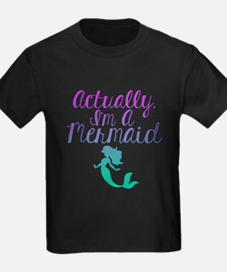 Actually, I'm A Mermaid T