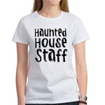 Haunted House Staff Halloween Women's T-Shirt