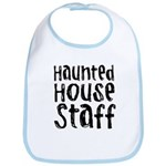 Haunted House Staff Halloween Bib