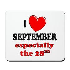 September 28th Mousepad