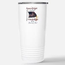 Unique American by birth Travel Mug