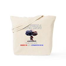 Unique Navy nuke Tote Bag