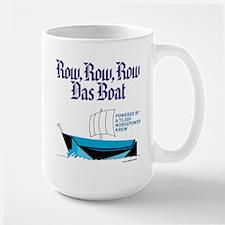 Row, Row, Row Large Mug