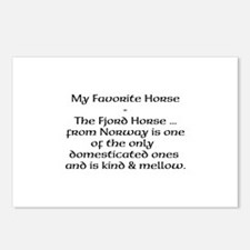 Fjord Horse Postcards (Package of 8)