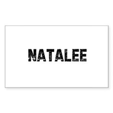 Natalee Rectangle Decal