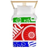 Triathlon Twin Duvet Covers