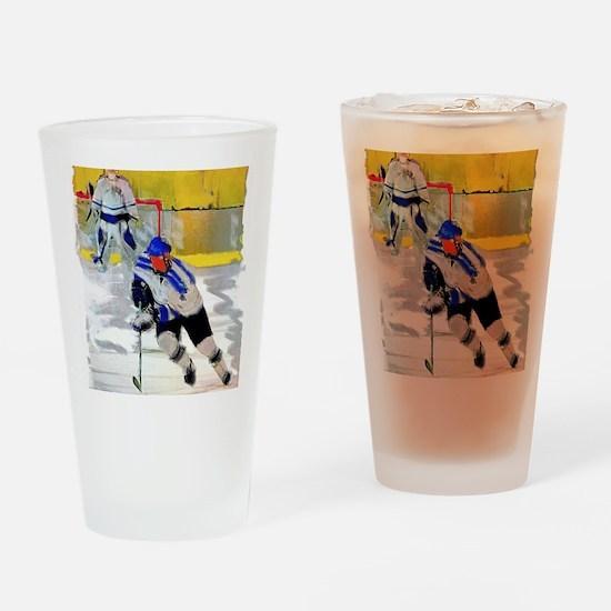 Cute Match Drinking Glass
