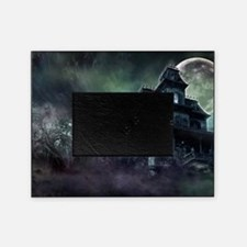 The Haunted House Picture Frame