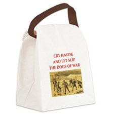 curling joke Canvas Lunch Bag