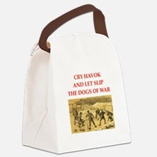 curling joke Canvas Lunch Bag