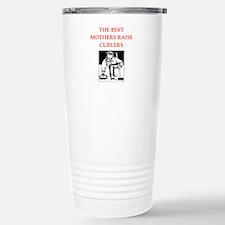curling joke Travel Mug