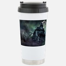 The Haunted House Stainless Steel Travel Mug