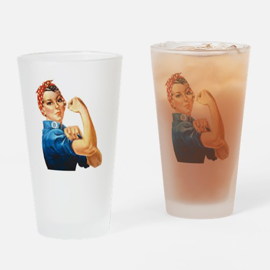Can do Drinking Glass
