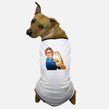 Cute Rosie the riveter Dog T-Shirt