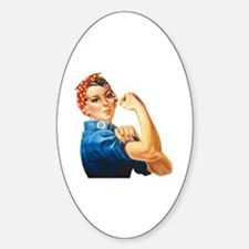 Cute Rosie riveter we can do Decal