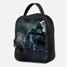 The Haunted House Neoprene Lunch Bag