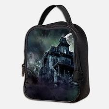 The Haunted House Neoprene Lunch Bag