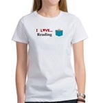I Love Reading Women's T-Shirt