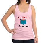 I Love Reading Racerback Tank Top