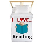 I Love Reading Twin Duvet