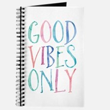 Good Vibes Only Journal