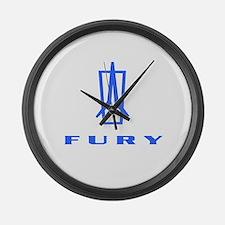Fury Large Wall Clock