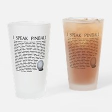 Cute Pinball Drinking Glass