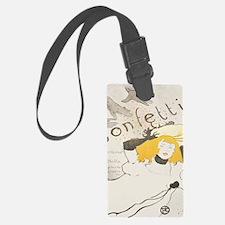 Cute Confetti Luggage Tag