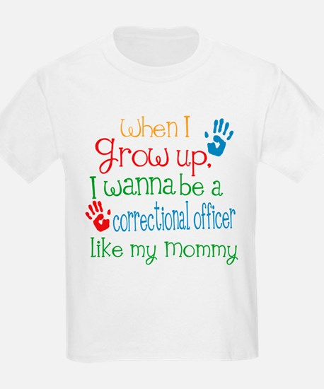Correctional Officer Like Mommy T-Shirt