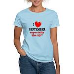 September 23rd Women's Light T-Shirt