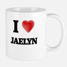 I Love Jaelyn Mugs