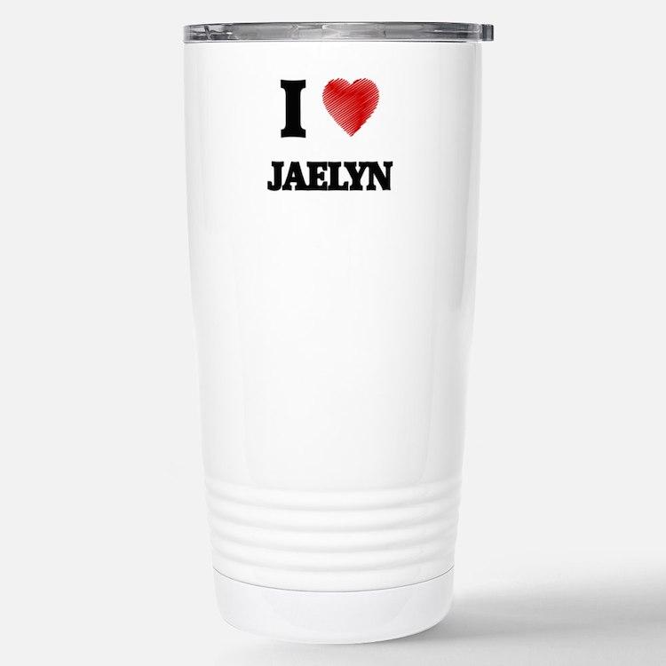 I Love Jaelyn Travel Mug
