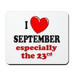 September 23rd Mousepad