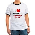 September 23rd Ringer T