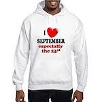 September 23rd Hooded Sweatshirt