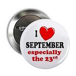 September 23rd Button