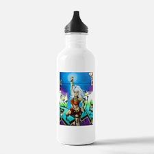 Cute Gamer chick Water Bottle