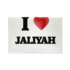 I Love Jaliyah Magnets