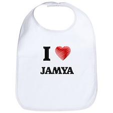 I Love Jamya Bib